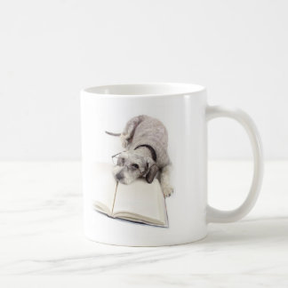 Your dog is a true philosopher classic white coffee mug