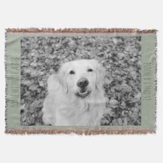 Your dog, personalised unique blanket
