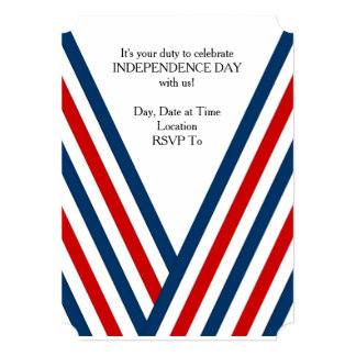 Your Duty July 4th Party Invitation