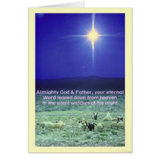 Your eternal word (Bethlehem) Xmas card