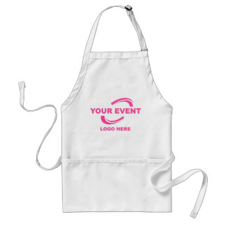 Your Event Logo Apron White P