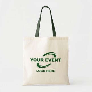 Your Event Logo Tote Bag Green