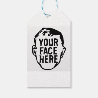 your-face-here gift tags