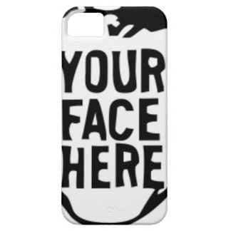 your-face-here iPhone 5 case
