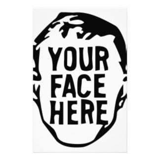your-face-here stationery