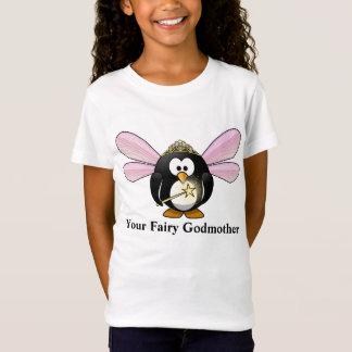 Your Fairy Godmother Cartoon Penguin Fairy T-Shirt