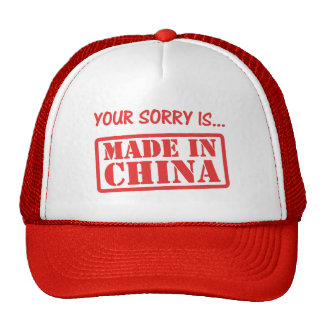 Your Fake Sorry Cap