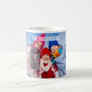 Your Family Photo Mug Name or Your Text