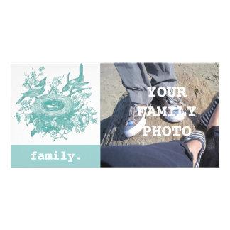 Your Family Portrait Custom Photo Card