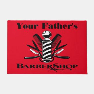 Your Father's Barbershop Doormat