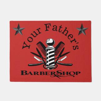 Your Father's Barbershop Stars Doormat