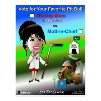 Your Favorite Pit Bull Postcard