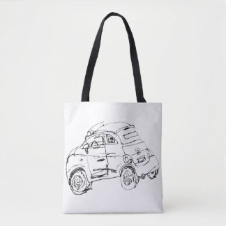 Your Favorite Wheels in Paris Tote Bag