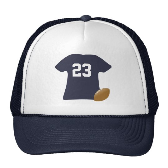 Your Football Shirt With Ball Cap