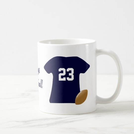 Your Football Shirt With Ball Coffee Mug
