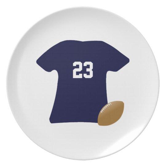 Your Football Shirt With Ball v2 Plate