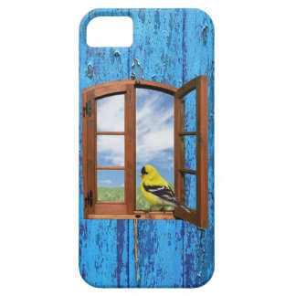 Your Free Yellow Bird Window Iphone Case