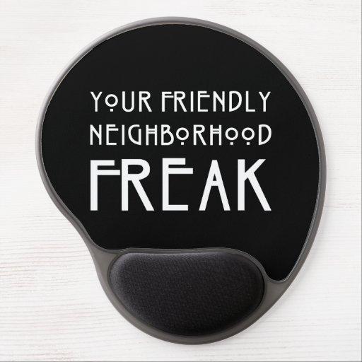 Your Friendly Neighborhood Freak Gel Mouse Mats