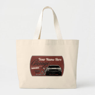 your Garage Large Tote Bag