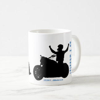 YOUR grandpa on 2 wheels!   My grandpa on 2 wheels Coffee Mug