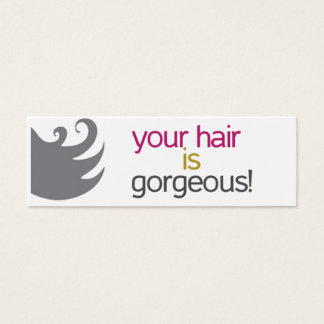 """Your Hair is Gorgeous"" Like Cards"