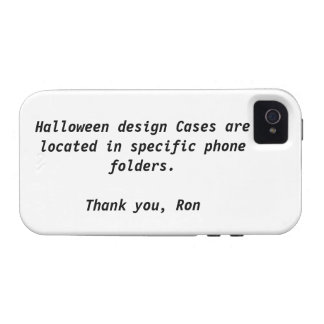 Your Halloween Case-Mate Case iPhone 4/4S Cover