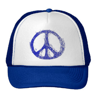 Your hat is a symbol of peace with this PEACE SIGN