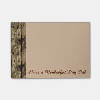 Your Have a wonderful day  Post-it® Notes 4 x 3