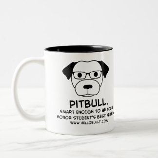 Your Honor Student's Best Friend! Two-Tone Mug