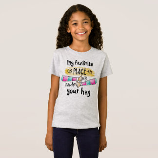 Your Hug My Favorite Place   Jersey Shirt