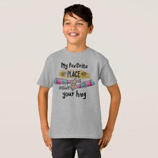 Your Hug My Favorite Place Tagless Shirt