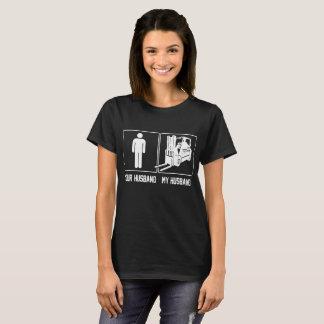 Your Husband My Husband Forklift Operator Proud T-Shirt