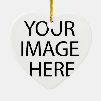 YOUR IMAGE HERE CUSTOMIZABLE PRODUCT MADE JUST FOR CERAMIC HEART DECORATION