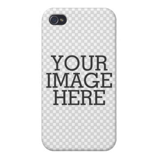 Your Image Here One Easy Step to Your Creation iPhone 4/4S Cases