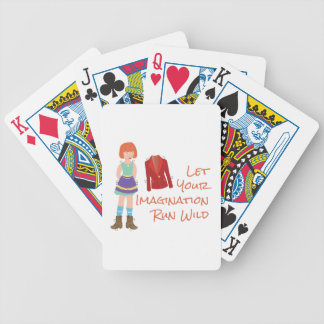 Your Imagination Bicycle Playing Cards