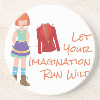 Your Imagination Drink Coasters