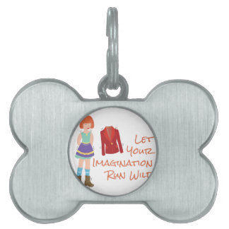 Your Imagination Pet ID Tag