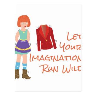 Your Imagination Postcard