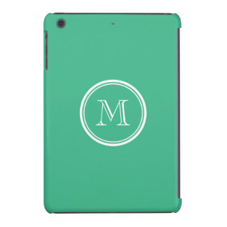 Your Initial Mint Green High End Colored iPad Mini Cases