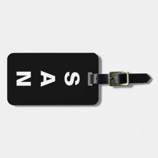 Your Initials with Name & Info - Luggage Tag