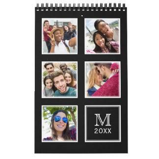 YOUR Instagram Photos & Monogram custom calendar