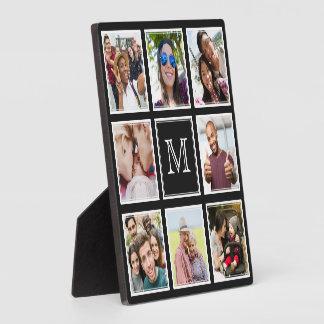 YOUR Instagram Photos & Monogram custom plaque