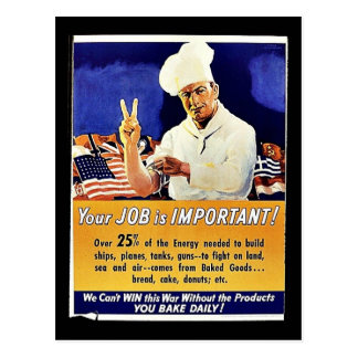 Your Job Is Important Post Cards