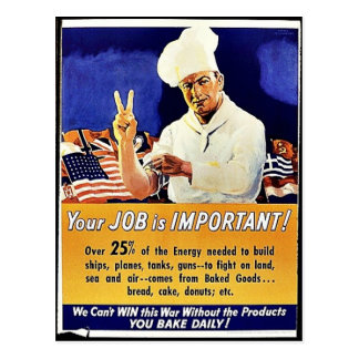 Your Job Is Important Postcard