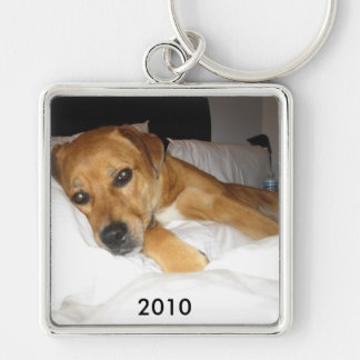 Your large Square template Key Ring