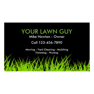 Your Lawn Guy Pack Of Standard Business Cards