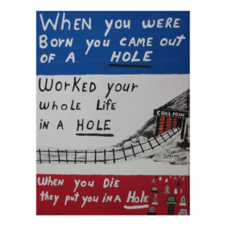 Your Life In A Hole Poster