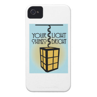 Your Light Shines Bright iPhone 4 Cases