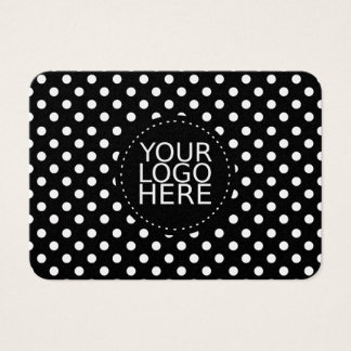 Your Logo Here and Dots Gold