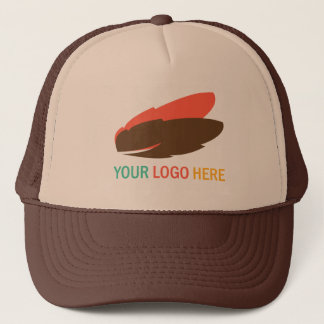Your logo here business promotional marketing trucker hat